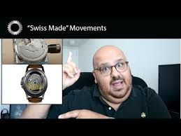 """<b>Swiss</b> Made"" Watch Movements Made In China ??? - RANT ..."