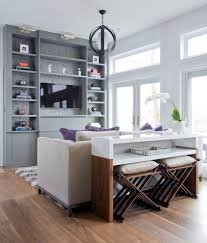 Dining Room Console Cabinets Console Table With Stools Living Room Contemporary With Beige Sofa