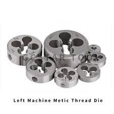 1PC Thread <b>Left</b> Die <b>Metric</b> M2 M3 M4 M5 M6 <b>M7</b> M8 M10 Mini ...