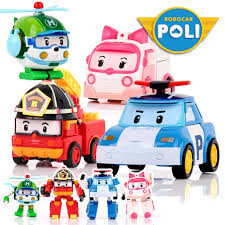 ( Ready Stock) Robocar Poli Robot Transform <b>Car Toy</b> /Police Car ...