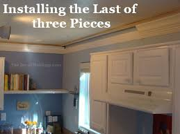 kitchen moldings: how to install kitchen crown molding