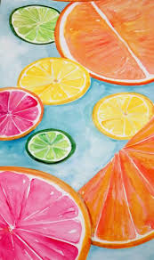 Lemon And Lime Kitchen Decor 1749 Best Images About Canvas Painting On Pinterest Watercolors