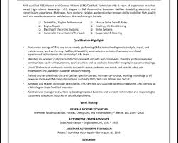 resume sample electrical technician