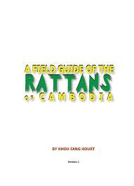 <b>Rattan</b> Field Guide_Change <b>Style</b>-Edit last new:Layout 1.qxd