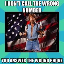 I don't call the wrong number You answer the wrong phone - No ... via Relatably.com