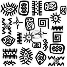 рисунки индейцев <b>майя</b> - Поиск в Google   Индейские символы ...
