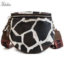 <b>Mododiino</b> Zebra Print <b>Crossbody</b> Fashion Pu <b>Leather</b> Ladies ...