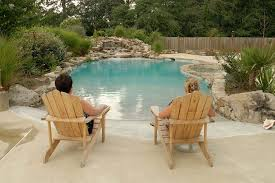 beach patio decor pool tropical with wood fencing patio furniture beach style patio furniture