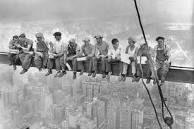 "The Secret of ""<b>Lunch Atop a Skyscraper</b>"" 