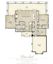 images about Cool living on Pinterest   Floor Plans  Dome    Mitch Ginn lake house plan for Russell Lands at Lake Martin  quot Creole Cottage quot  Main