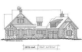 Arts  amp  Crafts House Plan   NC House Plans