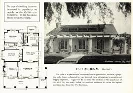 A Popular California Bungalow Pattern Used By Sears Modern Homes    The Cardenas from Standard Homes Company  another pattern book publication often found at local lumber