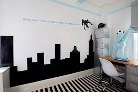 home decor large size amusing black sticker wall decal on white boys bedroom paint kid amusing white room