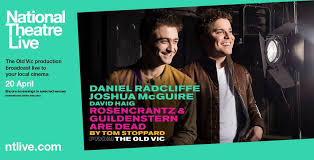 Image result for images of daniel radcliffe in rosencrantz and guildenstern are dead