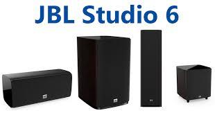 Серия домашней акустики <b>JBL Studio</b> 6: компрессионные ...