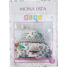 <b>Комплект постельного</b> белья детский <b>Mona Liza</b> Kids «Моряки ...