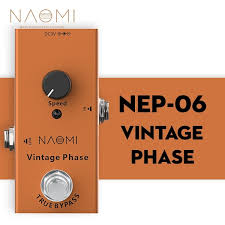 <b>NAOMI Vintage Guitar</b> Effects Pedal Single Mini Phase DC 9V ...