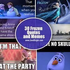 30 Frozen Quotes and Memes via Relatably.com