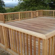 deck railing designs wood design
