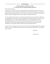 best inside s cover letter examples livecareer