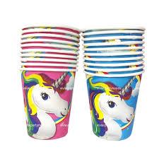 <b>10pcs Unicorn</b> paper <b>cup</b> | Shopee Philippines