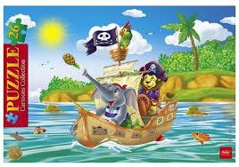 <b>Рамка</b>-вкладыш <b>Hatber</b> Cartoons Collection <b>Забавные</b> пираты ...