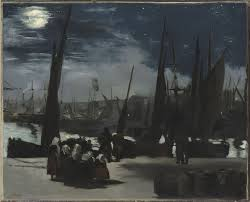 inventing impressionism paul durand ruel and the modern art moonlight at the port of boulogne edouard manet 1868 paris museacutee d