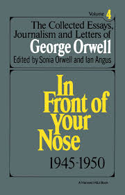 the collected essays journalism and letters of george orwell vol the collected essays journalism and letters of george orwell vol 4 1945 1950 george orwell 9780156186230 literature amazon