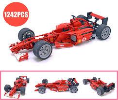 <b>New Technic Racing Car</b> 1:8 Formula F1 Fit Legoings City Model ...