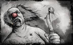 anthony sixto art blog halloween challenge day clown halloween challenge day 4 clown