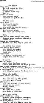 leonard cohen song anthem leonard cohen txt lyrics leonard cohen leonard cohen song anthem leonard cohen txt lyrics