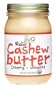 Jiva Organics RAW Organic Cashew Butter 16-Ounce ... - Amazon.com