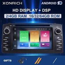 Buy Online 4GB 64DSP <b>2 Din Android 10</b> Car Radio DVD Player For ...