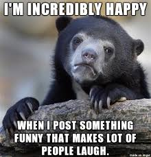 Like, it's totally dumb. I get super joyous - Meme on Imgur via Relatably.com