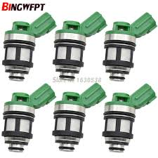 <b>6PCS FUEL INJECTOR</b> FIT FOR Nissan Altima NP300 Frontier ...