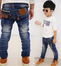Hot <b>2018 Spring Autumn Children's</b> Clothing Boys Baby Jeans ...