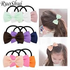 Girls Flower Fabric Hair Accessories <b>Korean Multi</b> layer Three ...