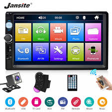 """<b>Jansite 7</b>"""" <b>1080P</b> 2 din <b>Car</b> Radio MP5 player Digital Touch screen ..."""