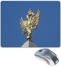 """Коврик для мышки """"<b>Двуглавый орел</b>."""" #2670017 от Eva De Peron ..."""