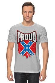 <b>Футболка классическая Printio Флаг</b> Конфедерации США #1575239