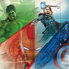 <b>Фотообои MARVEL Avengers</b> Graphic Art (3,68х2,54 м) | fin-eks.ru