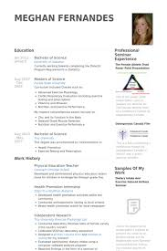 physical education teacher resume samples teacher resume templates