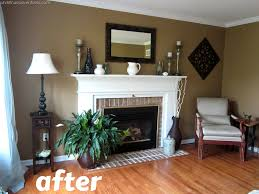 Paints Colors For Living Room Living Room Make Over Tan White Blue Paint Colors Room