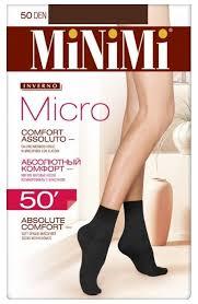 Капроновые <b>носки MiNiMi Micro</b> 50 den — купить по выгодной ...
