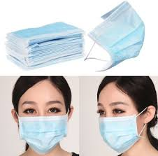 60% OFF on VMD <b>100pcs Disposable Face Masks</b> Elastic Earloop ...