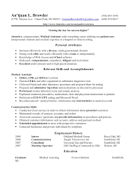medical assistant   medical assistant resume skills