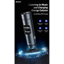 <b>Baseus energy column car</b> wireless MP3 charger,dual USB ...
