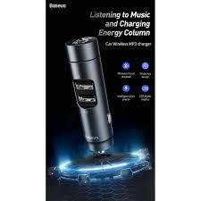 <b>Baseus energy column car</b> wireless MP3 charger,dual USB ...