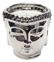 <b>Ароматическая свеча White Tea</b> & Mint Silver Buddha 1105г