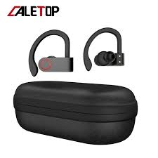 <b>Caletop TWS</b> Sporting Wireless Earbuds with Charging Case ...